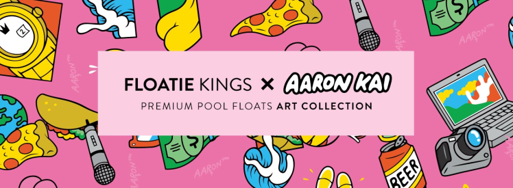 Floatie Kings Pool Floating Art